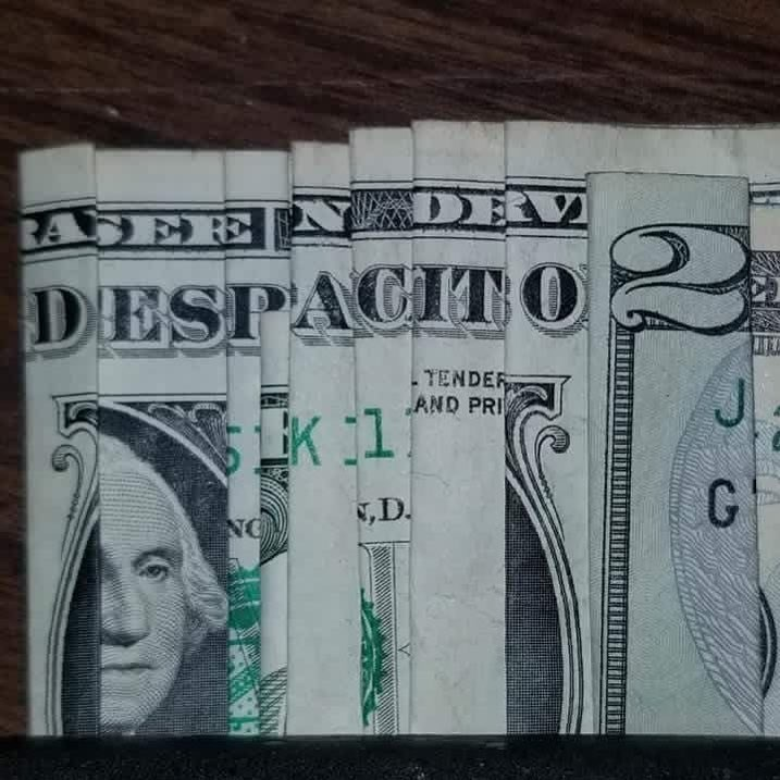Funny meme about despacito 2 made out of dollars.