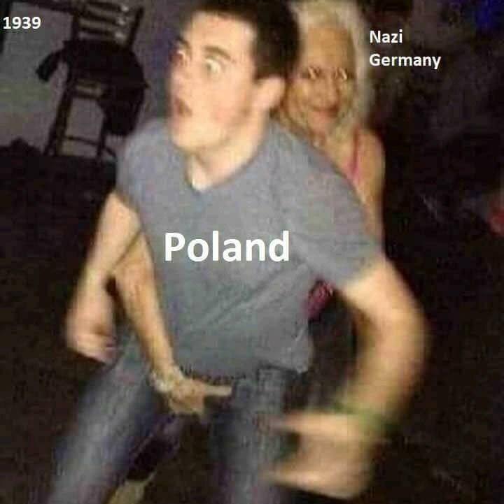 dank memes - Fun - 1939 Nazi Germany Poland