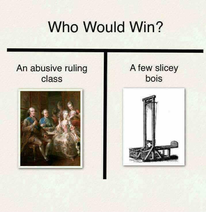 dank memes-who would win abusing ruling class