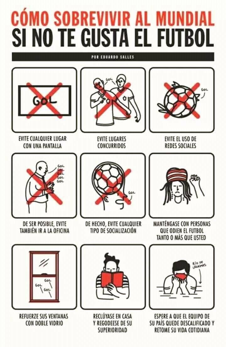 como hacer si no te gusta el futbol