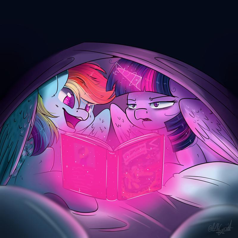 afkcyrist twilight sparkle books rainbow dash - 9177276160