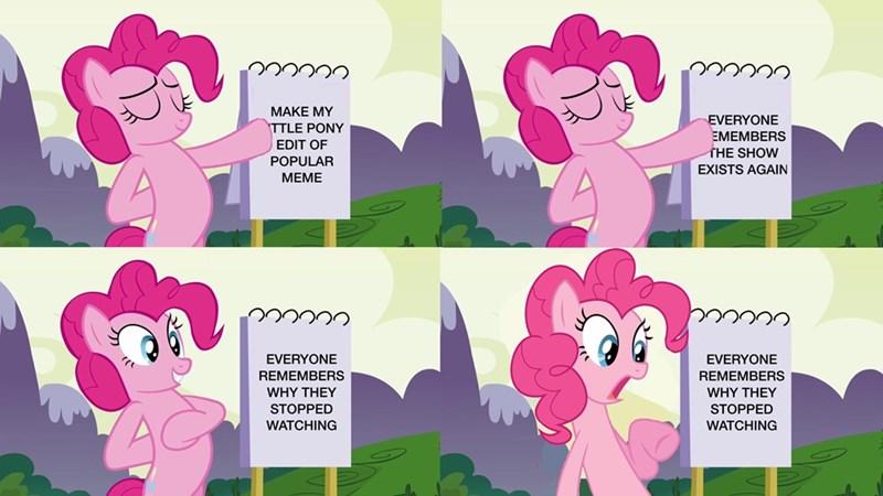 pinkie pie Memes gru's plan comic - 9177753344
