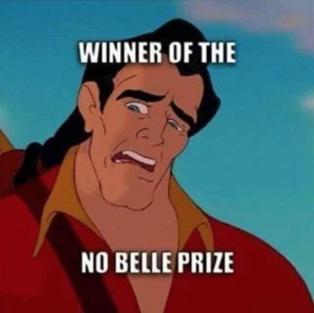 Cartoon - WINNER OF THE NO BELLE PRIZE