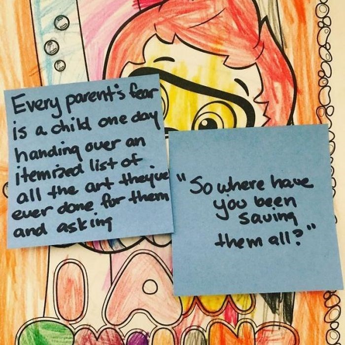 Text - Every parents ar is a child one doy handing over an itemiaed list of ever done for them So where have Jou been savinm and askin them all O