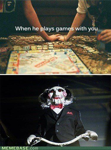 Games - When he plays games with you 0tlethins MEMEBASE.com