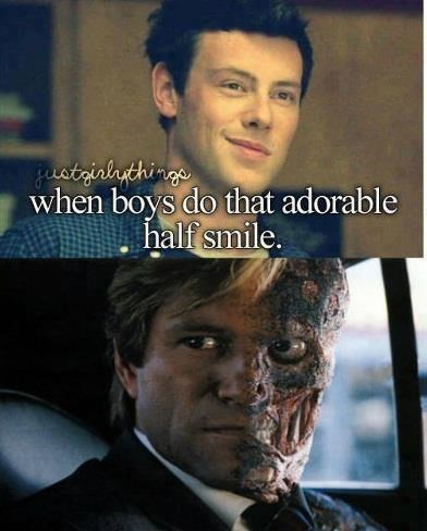 Movie - aatrinhthings when boys do that adorable half smile.