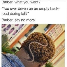 barber meme about getting a scenic inspired haircut