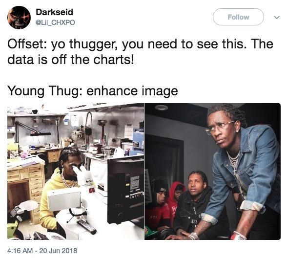 Young Thug And Lil Durk Troubleshooting Is Getting The Most Epic