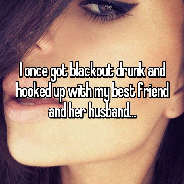 Text - lance got blackout drunk and hooked up withmy best frtend and her husban..
