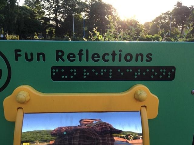 Green - Fun Reflections