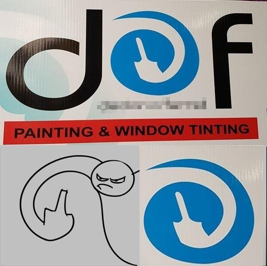 Font - def PAINTING &WINDOW TINTING
