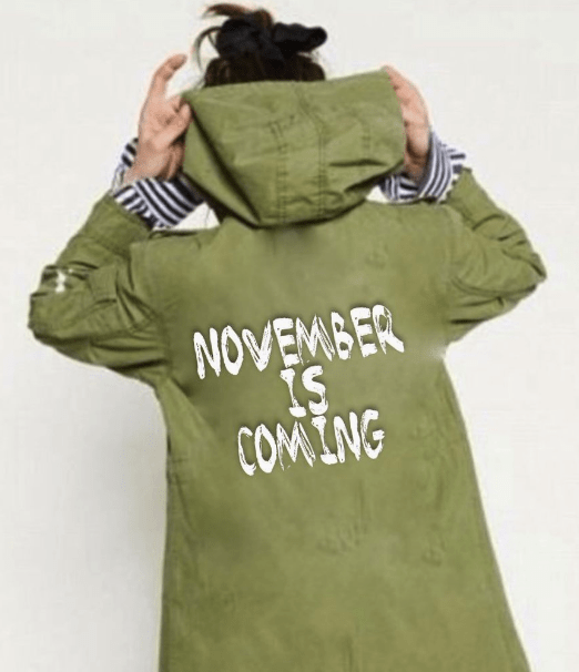 Clothing - NOVEMBER IS COMING