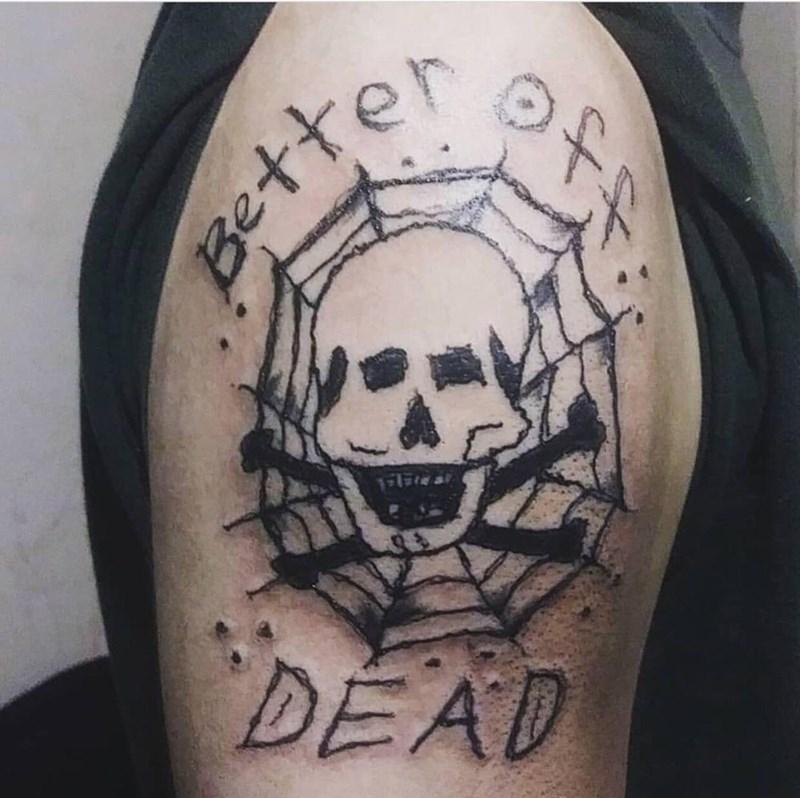 bad tattoos - Tattoo - DEAD Betto