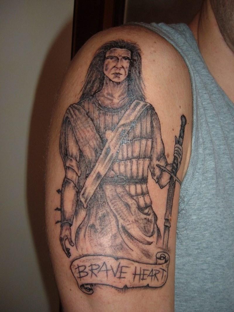 bad tattoos - Tattoo - BRAVE HEART