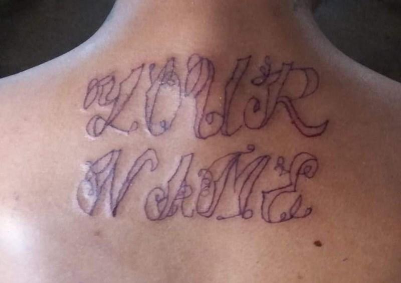 bad tattoos - Tattoo - WAME
