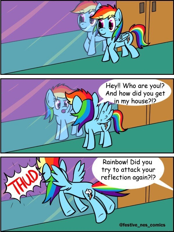 comic nes does art rainbow dash - 9180474880