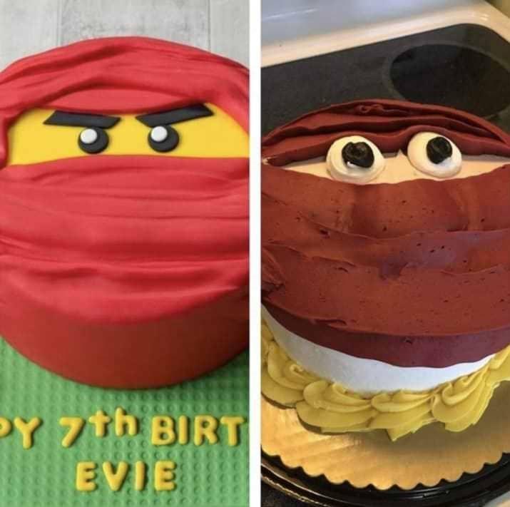 Cake - Y 7th BIRT EVIE