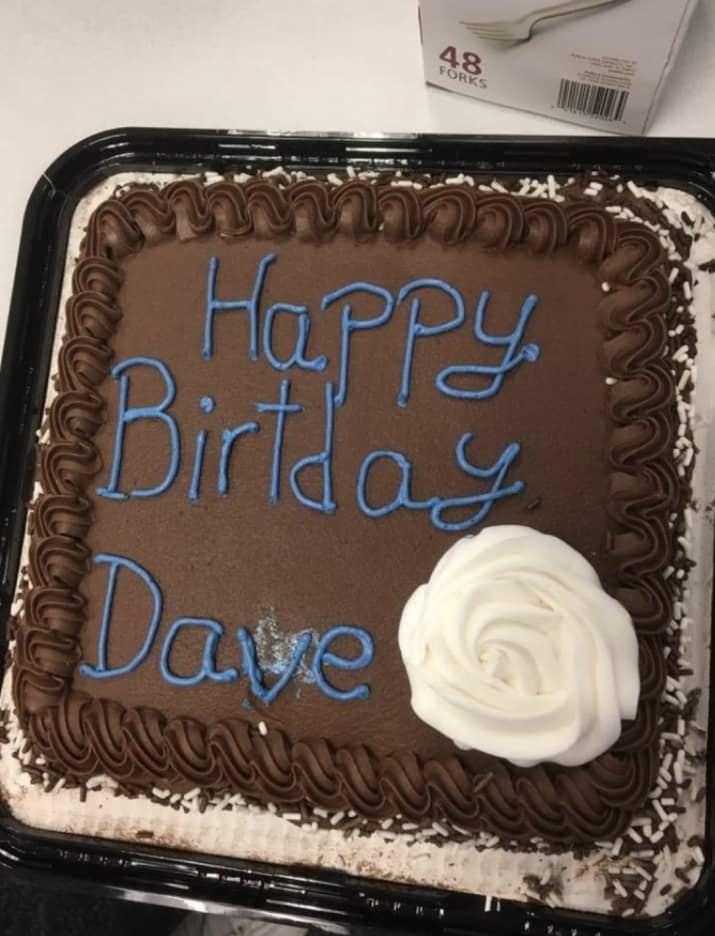 Cake - 48 FORKS HapPy Birlda Daye