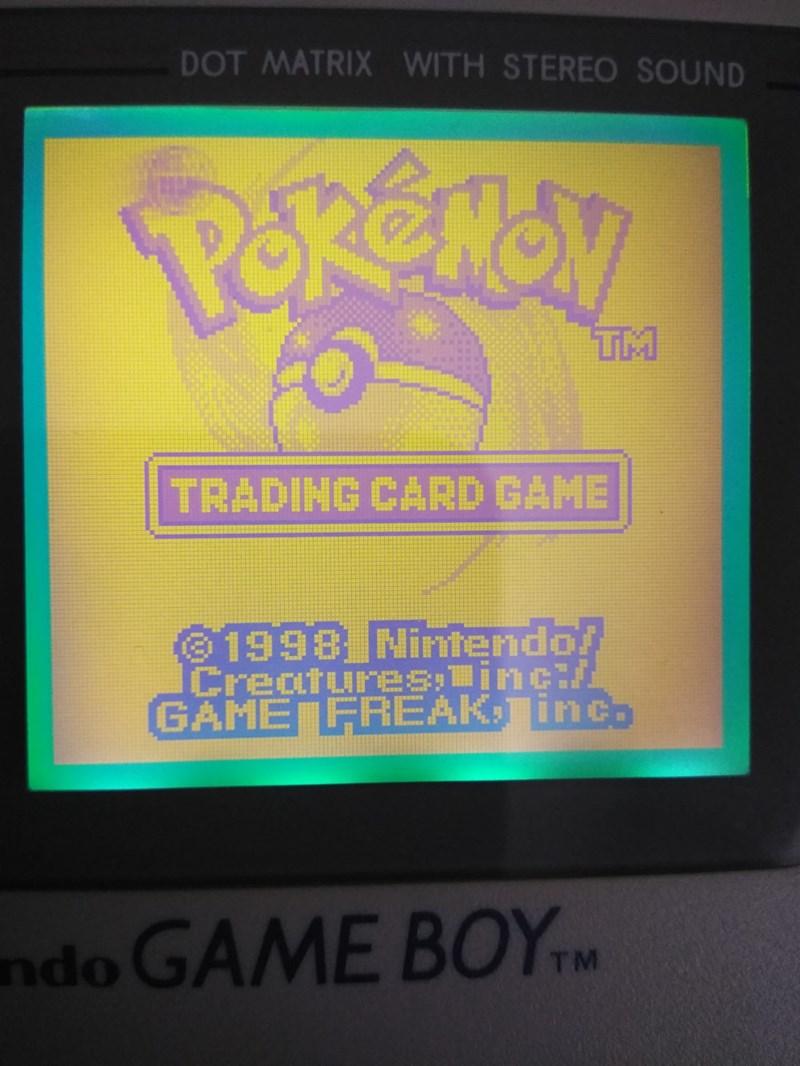 Screen - DOT MATRIX WITH STEREO SOUND Perenal TM TRADING CARD GAME 1998 Nintendo! Creatures;jnc/ GAME FREAK, inco ndo GAME BOYTM