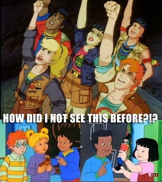 Cartoon - HOW DID I NOT SEE THIS BEFORE?I? TLC