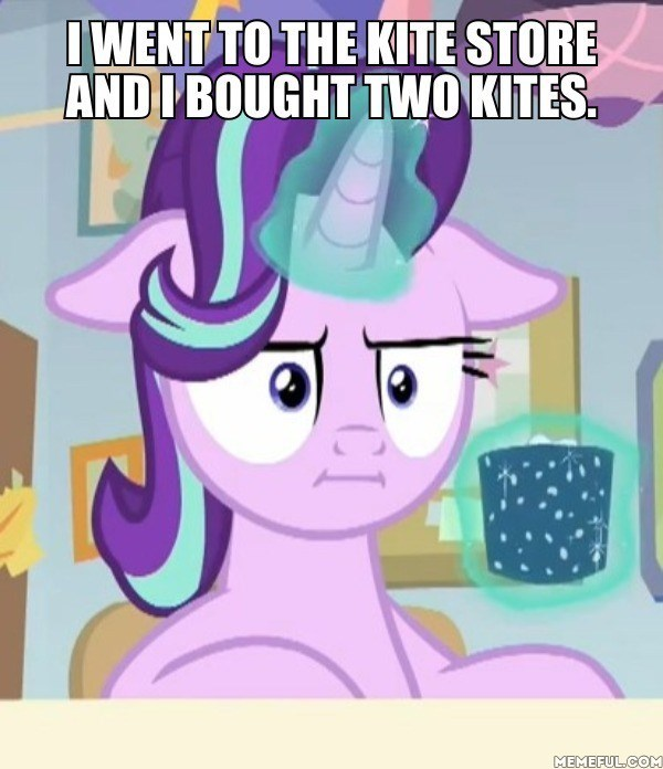 make new friends but keep discord marks for effort starlight glimmer screencap kites - 9180897024