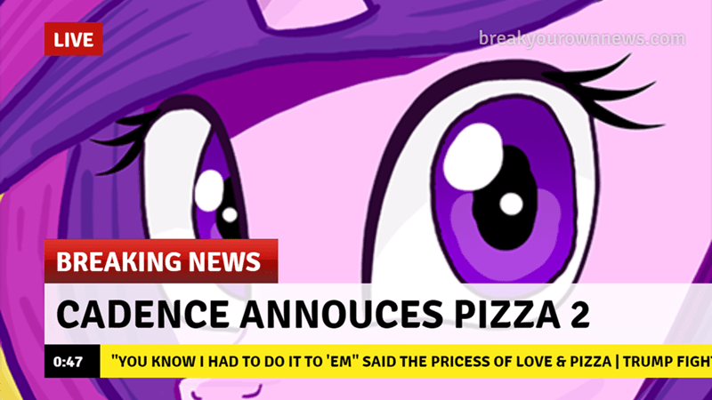 princess cadence pizza Memes Breaking News mr tank hill - 9180897280