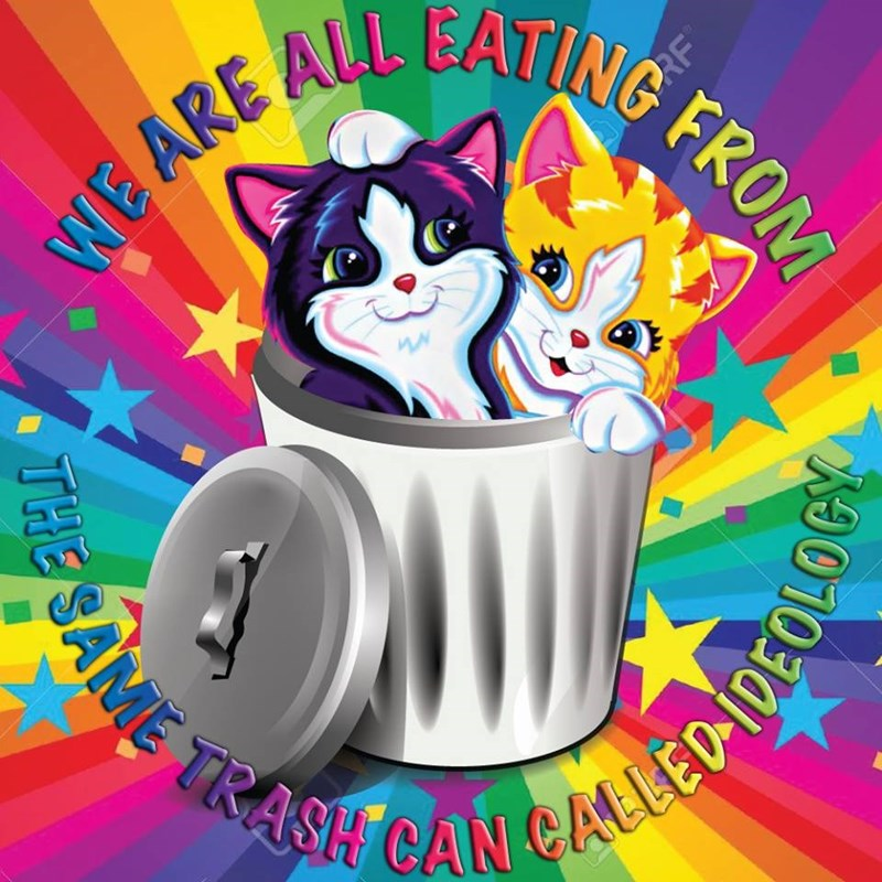 Clip art - TR SAME TRASH CAN CALLED-IDEOL WE ARE ALL EATING FROM PRF THE SAME