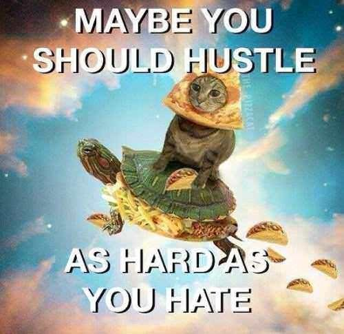 Tortoise - MAYBE YOU SHOULD HUSTLE AS HARDAS YOU HATE PIZACAL