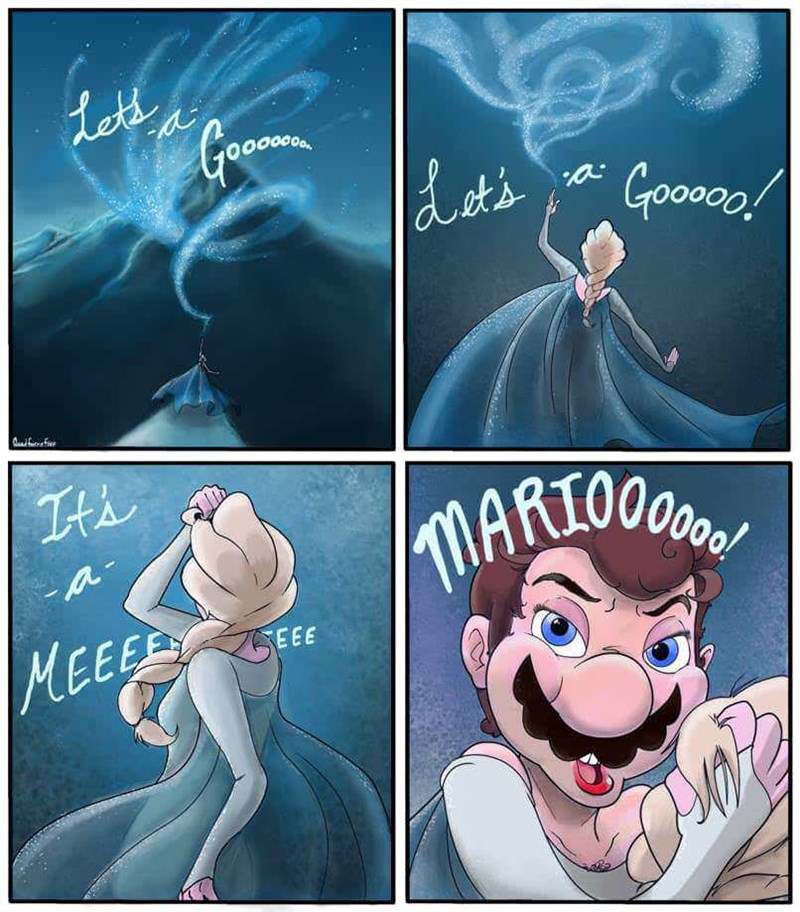 Cartoon - Lets dest's Gooon f MEEEAY EEE