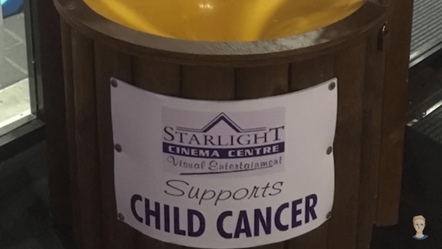 Yellow - STARLIGHT CINEMA CENTRE Visual Eatertainmont Supports CHILD CANCER