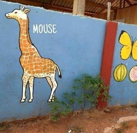 Giraffe - MOUSE