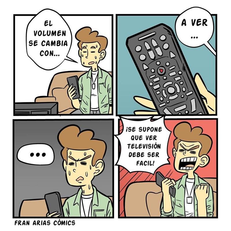 cuando los controles de los televisores son cada vez mas complicados