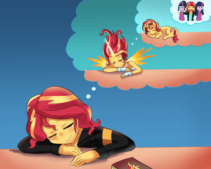 equestria girls scitwi twilight sparkle iojknmiojknm sunset shimmer - 9181372160