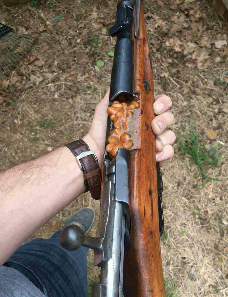 misplaced beans - Gun