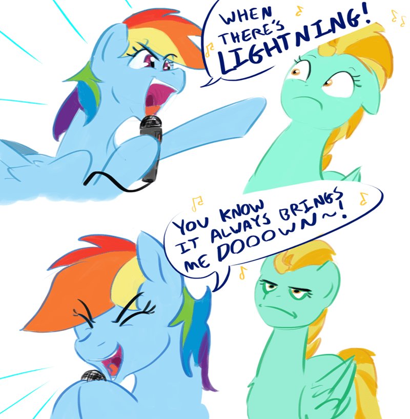 rainbow in the dark testostepone lightning dust puns ronnie james dio comic rainbow dash - 9182535936
