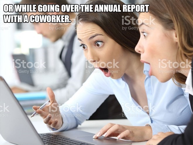 Learning - OR WHILE GOING OVER THE ANNUAL REPORT WITHA COWORKER. iStock by Getty Image by Getty es Stock iStock Stock Getty Images by by Getty Image mages Stock Stock k y Ge y images bbaly loces ages