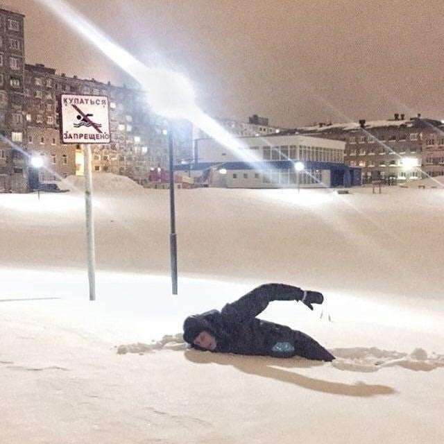 Snow - куПАТься ЗAПРЕЩЕНО