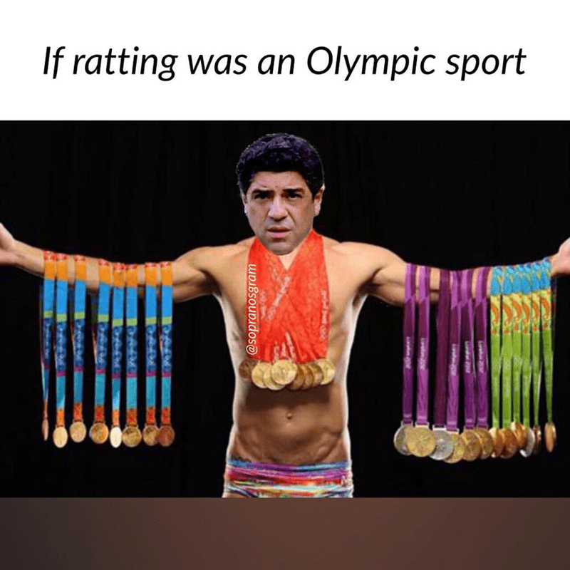 meme - if ratting was an Olympic sport