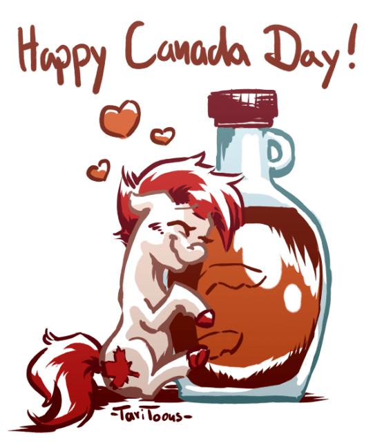 tari toons Canada OC maple leaf canada day - 9183820544