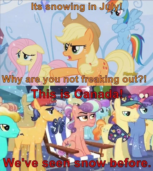 Canada applejack screencap comics the crystalling canada day - 9183866880