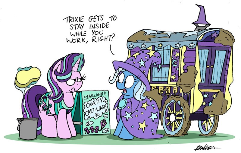 the great and powerful trixie bob the dalek starlight glimmer - 9184114944
