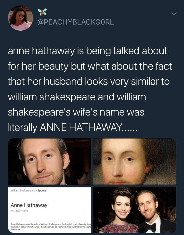 dank meme about anne hathaway