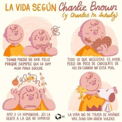 la vida segun charlie brown y su autor