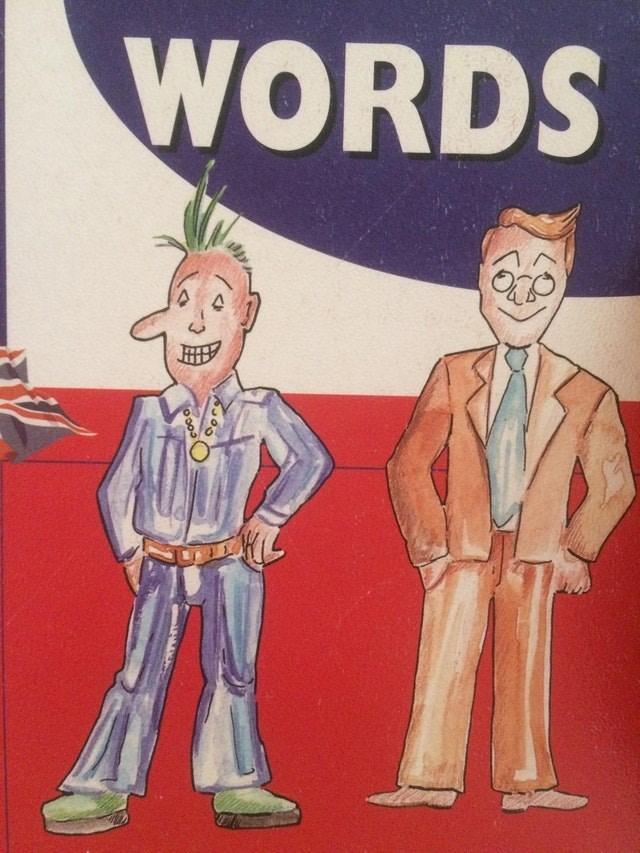 Cartoon - WORDS
