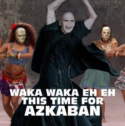 Dance - WAKA WAKA EH EH THIS TIME FOR AZKABAN