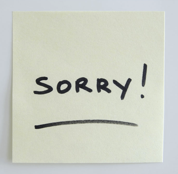 Text - SORRY!
