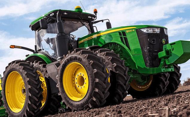 Land vehicle - HN DEERE 8320 R DEER