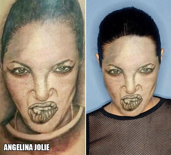 Face - ANGELINA JOLIE