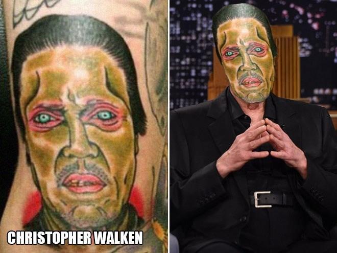 Tattoo - E CHRISTOPHER WALKEN