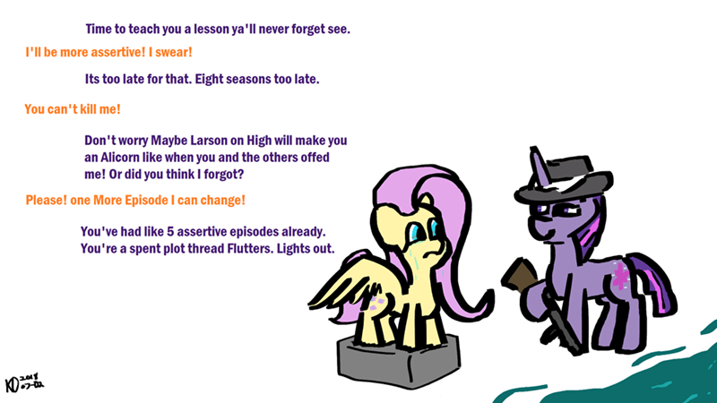 changeling collective twilight sparkle fluttershy - 9184661504